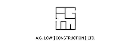 A. G. Low Construction Logo
